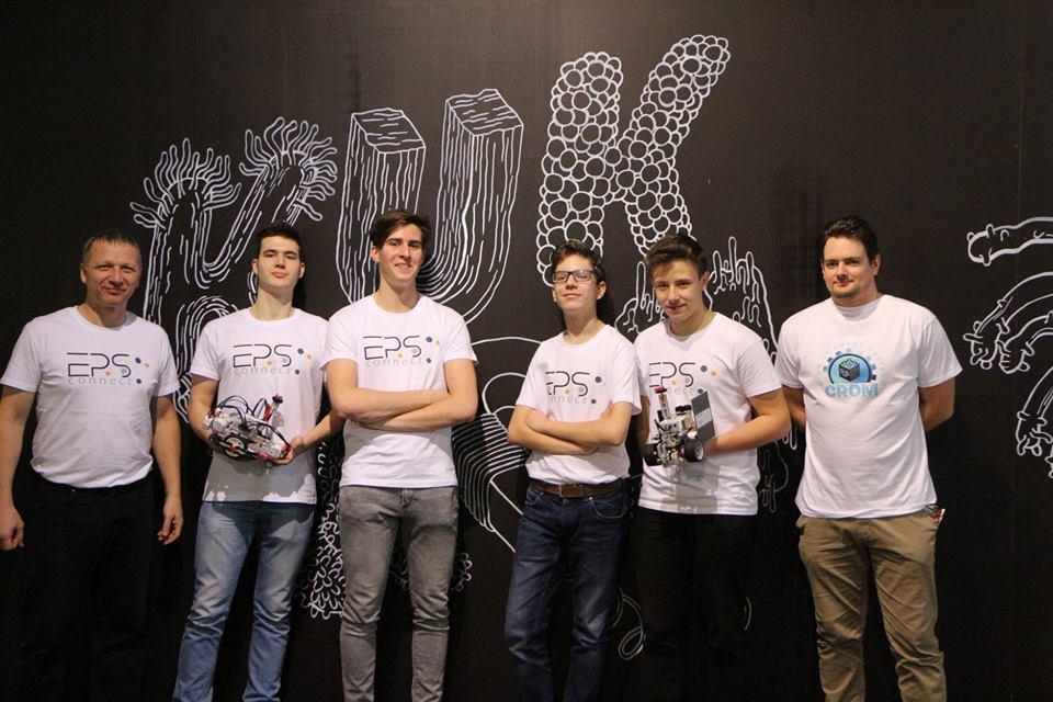 Robotika verseny Brno 1