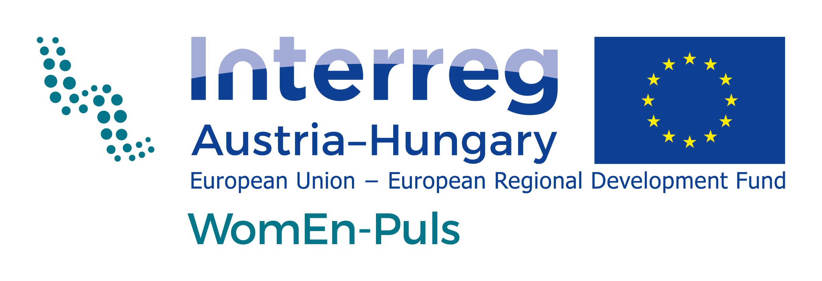 Projectlogo Interreg AT-HU_WomEn-Puls_rgb